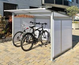 Fahrradüberdachung Modell Hobby 200 - CICLOPARK  HOME