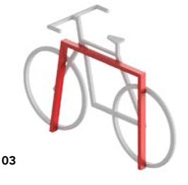 Ciclopark Fahrradhalterung Mod 30.C