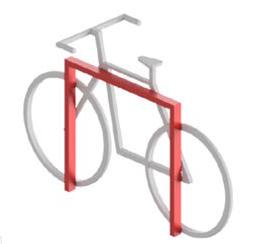 Ciclopark Fahrradhalterung Mod 30A