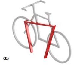 Ciclopark Fahrradhalterung Mod 30.E