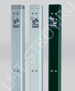 Столбы для сетки PADEL - теннис, квадратные зеленые