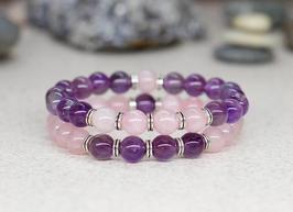 Bracelets Quartz - Améthyste