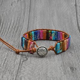 Bracelet wrap Multicouleurs