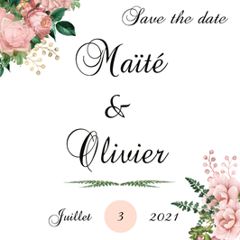 Save The Date  - Collection Victoire