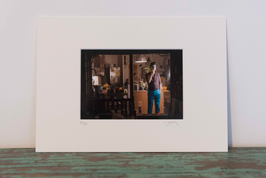 Le clown - 12 x 18 cm (Fenêtre 11 x 16 cm)