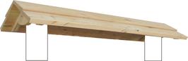 Holzdach, Satteldach, Pultdach