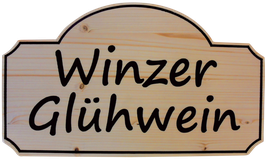 Holzschild Fichte Leimholz