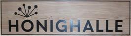 Honighalle Firmenschild