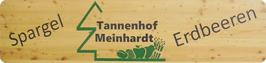 Hofladenschild aus Lärchenholz