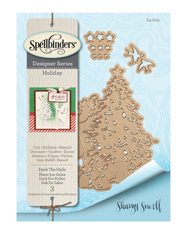 "Stanzschablone ""Deck The Halls"" - Spellbinders"