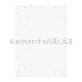 """Prägeschablone """"Herzenregen"""" - Alexandra Renke"""