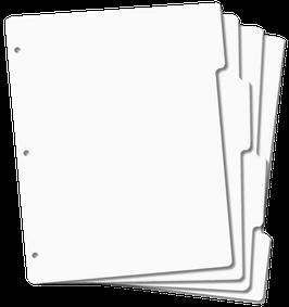 Tabbed Stamp Storage Panel