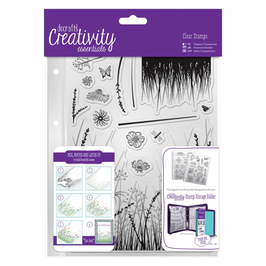 "Clearstamp ""Meadow"" - Docrafts"