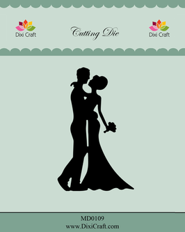 "Stanzschablone ""Wedding Couple"" - Dixi Craft"