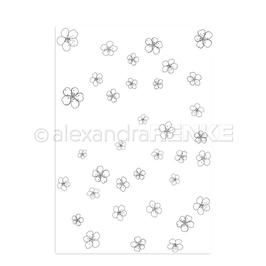 "Clearstamp ""Fallende Blumen"" - Alexandra Renke"
