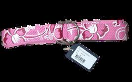 GANT hibiscus webbing belt pink