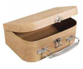 Pappmaché Koffer gross