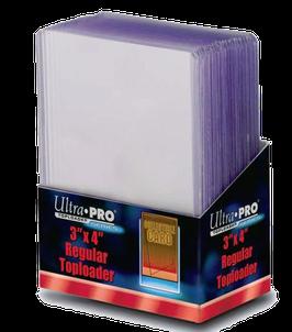"""Ultra Pro - Regular Toploader 3"""" x 4"""" - 25 Stück"""