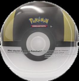 Pokéball Tin Box (schwarz/gold) - Frühling 2021 Edition