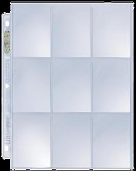 9-Pocket Pages, Ultra Pro Platinum Series - 1 Stk