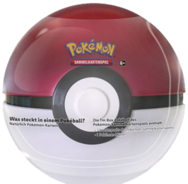 Pokéball Tin Box (rot/weiß) - Frühling 2021 Edition