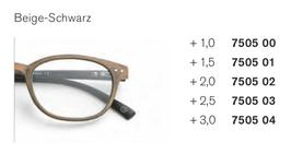 Kunststoffbrille  Holzoptik gebürstet