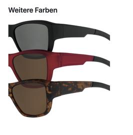 Überzieh - Sonnenbrille 7756-3 gibt es nur noch in der Farbe Havanna Matt mit braunen Gläser