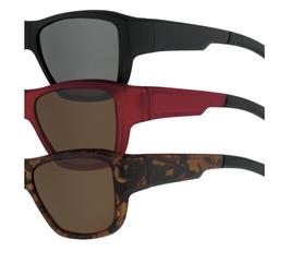 Überzieh - Sonnenbrille 7756 - nur noch in Havanna matt, polarisierend braun erhältlich!