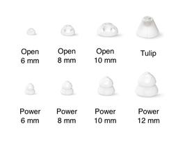Schirmchen für Oticon miniFit Ex-Hörer und auch für andere Hersteller (auf Anfrage)