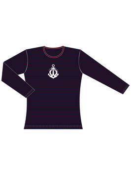 Froen-langarm Shirt Ankerflock
