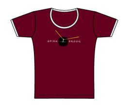 Froen-T-Shirt Weinrot Boje