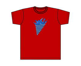 Kinners-T-Shirt Rot Süße Tüte