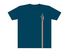 Keerls-T-Shirt Graublau Wattkieker