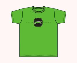 Kinners-T-Shirt Grasgrün Insel