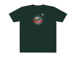 Keerls-T-Shirt Graugrün Spiekerworld Zelt