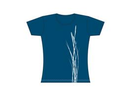 Froen-T-Shirt Graublau Strandhafer