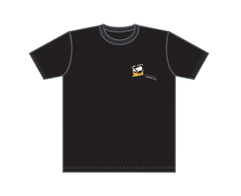 Keerls-T-Shirt Kogge schwarz