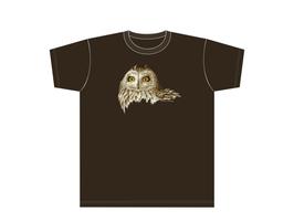 Kinners-T-Shirt MD Braun Sumpfohreule
