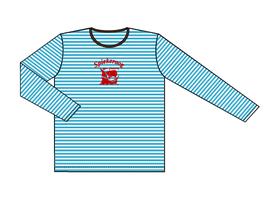 Kinners-Langarm-Shirt Kogge rot