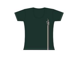 Froen-T-Shirt Graugrün Wattkieker