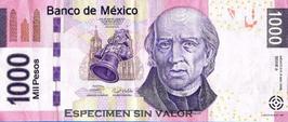 Valor $ 1000.00