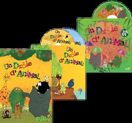 UN DRÔLE D'ANIMAL - Pack DVD/CD/Livre