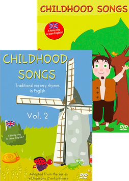 CHILDHOOD SONGS - Pack 2 DVD
