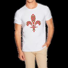 Hr. T-Shirt weiß / schwarz - MOTIV 2