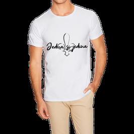 Hr. T-Shirt weiß / schwarz - MOTIV 5