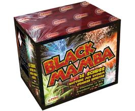 Bodenfeuerwerk BLACK MAMBA
