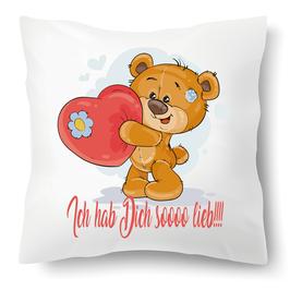 """Polster """"Liebes Bär"""""""