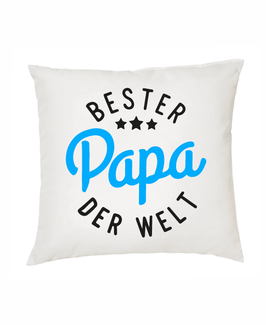 """Polster """"Bester Papa der Welt"""""""