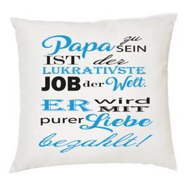"""Polster """"Papa sein-lukrativer Job"""""""