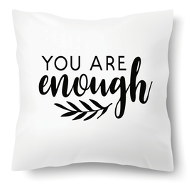 "Polster ""You are enough"""